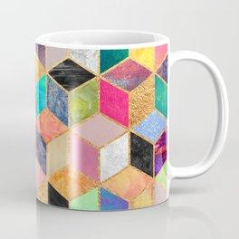 Colorful Cubes Coffee Mug