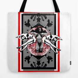 I am a WOMAN - Digital Collage Tote Bag