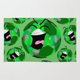 SoccerComics Green Rug