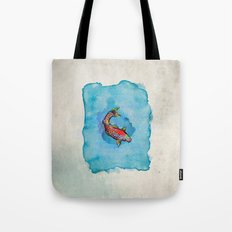 Small Fish. Small Pond. Tote Bag