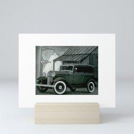 1932 FoMoCo 2dr sedan Mini Art Print