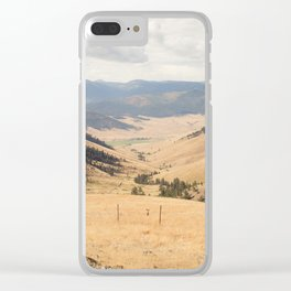 The Montana Collection - Wide Open Spaces Clear iPhone Case