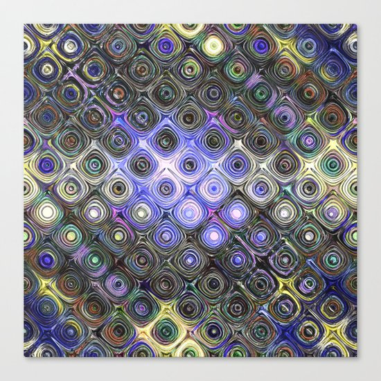 Digital Beads of Glass Canvas Print