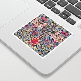 William Morris Snakeshead Floral Art Nouveau Sticker