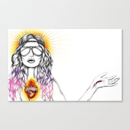 Blessed are the Hipsters Canvas Print