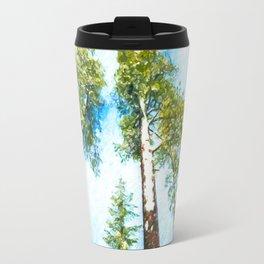 Snow in Sequoia National Park Travel Mug
