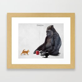 I Should, Koko Framed Art Print
