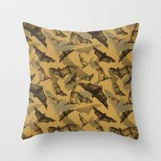 Bats Throw Pillow