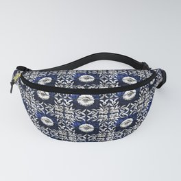 Azulejo VII - Portuguese hand painted tiles Fanny Pack