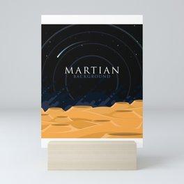 Martian Background Mini Art Print