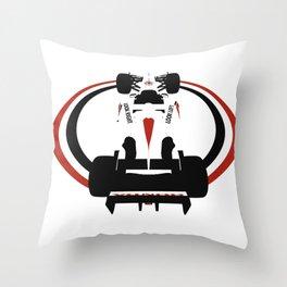 BAR 006 Formula 1 Throw Pillow