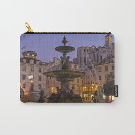 Rossio fountain, Lisbon Carry-All Pouch