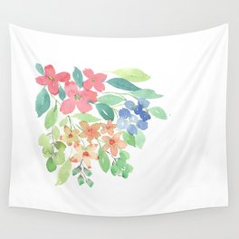 Cluster of flowers Wall Tapestry