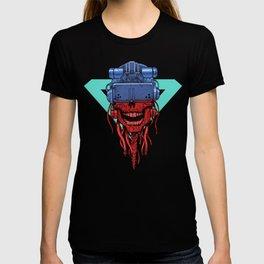 cyberpunk skull T-shirt