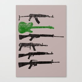 Weapons Canvas Print