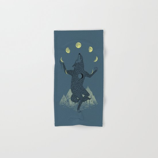 Moon Juggler Hand & Bath Towel
