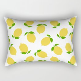 LEMON LEMONS FRUIT FOOD PATTERN Rectangular Pillow