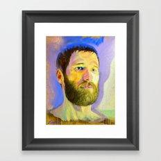 M-A Framed Art Print
