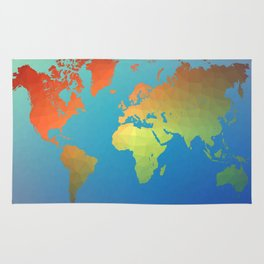 Poly Map Rug