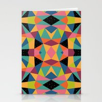 kaleidoscope Stationery Cards featuring Kaleidoscope by Andy Westface