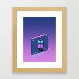Boba.exe Framed Art Print