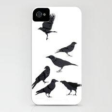 kargalar (crows) iPhone (4, 4s) Slim Case