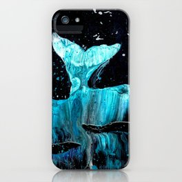 Whale of a Tail iPhone Case