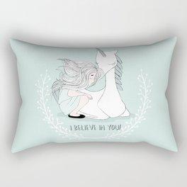 I believe in you Rectangular Pillow