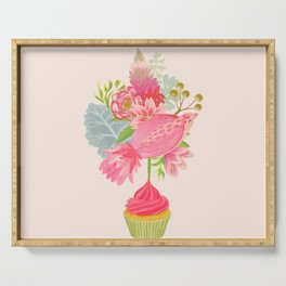 Cupcake Bouquet Serving Tray