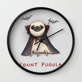 Count Pugula Wall Clock