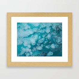 aqualung Framed Art Print