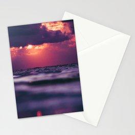 Maldivian sunset 8 Stationery Cards