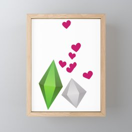 TheSIMS4 # FikiFiki # Framed Mini Art Print