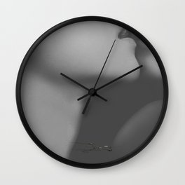 """""""kiss me ... your tongue is like poison"""" Wall Clock"""