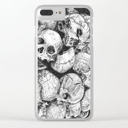 Pile o' Skullies Clear iPhone Case