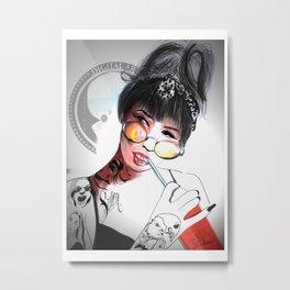 Tattoed By me Metal Print