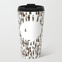 The true & amazing Gulliver's Travels Metal Travel Mug