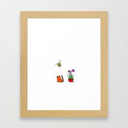Butterfly. Framed Art Print