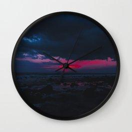 Sunset Magic Wall Clock