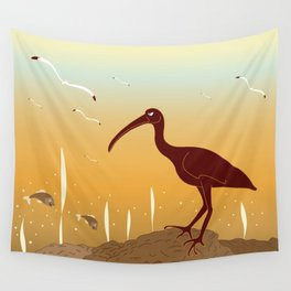 A Full Ibis Wall Tapestry