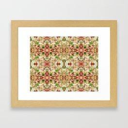 Chick Pea/Fava Bean Salad 2 Framed Art Print