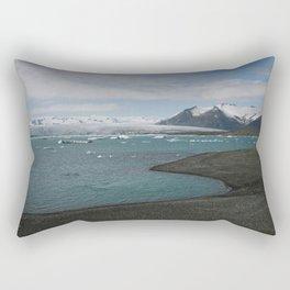 glacial lagoon Rectangular Pillow