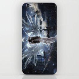 Cyborg goddess iPhone Skin