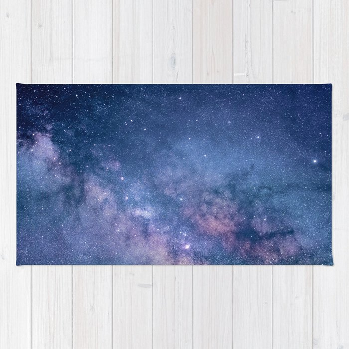 Milky Way Stars (Starry Night Sky) Rug