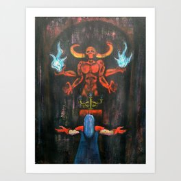 The Black Wind Art Print