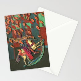 The Knight and the Mermaid Stationery Cards