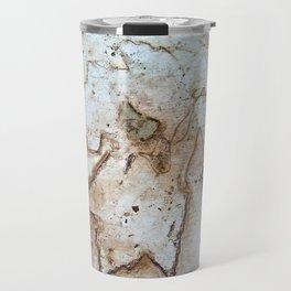 Maple Leaf Etching Travel Mug