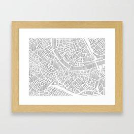basel city print Framed Art Print