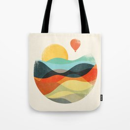 Let the world be your guide Tote Bag