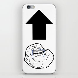 Forever Alone iPhone Skin